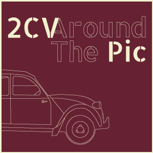 Logo 2CV around the pic