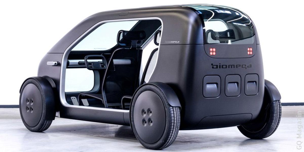 Photo de la voiture électrique Biomega